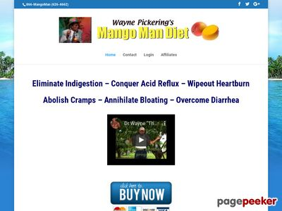 Mango Man Diet – Is your diet a riot!?!?