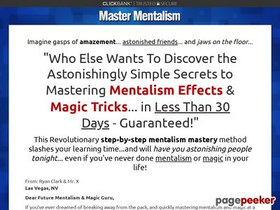 Master Mentalism – How To Do Mentalism Effects & Magic Tricks.