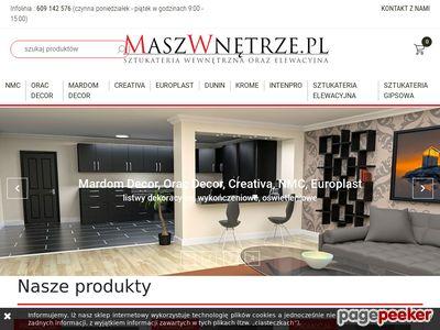 Sztukateria NMC i Europlast – sklep internetowy