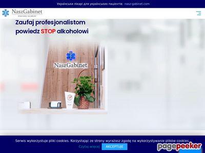 Wszywki alkoholowe - Wrocław, Warszawa, Kraków - Nasz Gabinet
