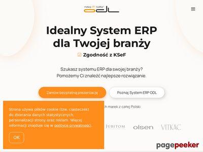 Oprogramowanie dla firm. Systemy ERP