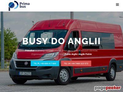 Przewozydoanglii.pl - Bus Polska Anglia