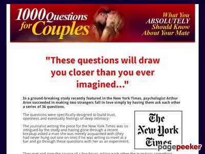 1000 Questions for Couples – official site