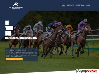 Professional Horse Racing Tips – Ron Williams Racing