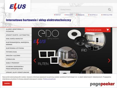 Elus - Sklep elektryczny online