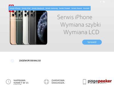 Wymiana lcd iphone 8