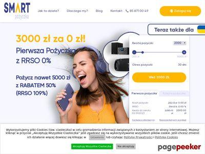 SmartPożyczka - chwilówka do 1000 zł bez prowizji