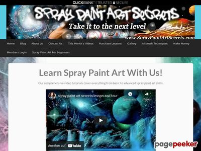 Spray Paint Art Secrets Techniques And Tutorials Lessons