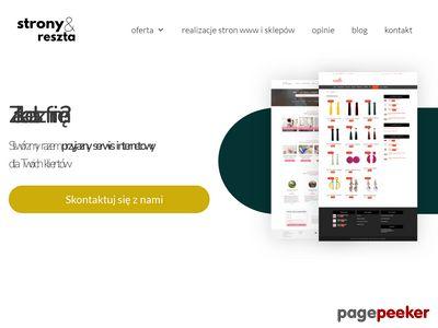 Stronyireszta.pl - tworzenie firmowych stron www i sklepów internetowych