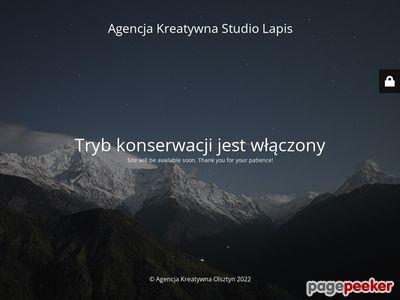 Studiolapis.pl - identyfikacja wizualna Olsztyn.