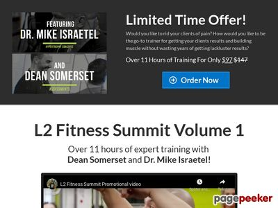 The L2 Fitness Summit Volume 1