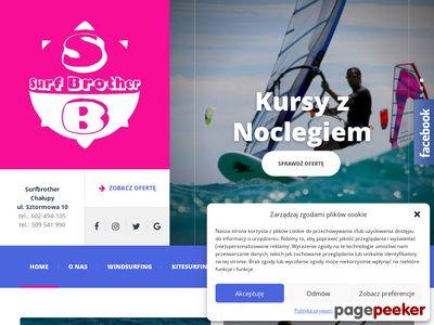 Szkoła windsurfingu Chałupy, Półwysep