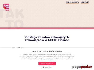 Pożyczki online w Takto Finanse