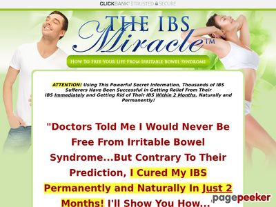 The IBS Miracle TM- How To Free Your Life From Irritable Bowel Syndrome