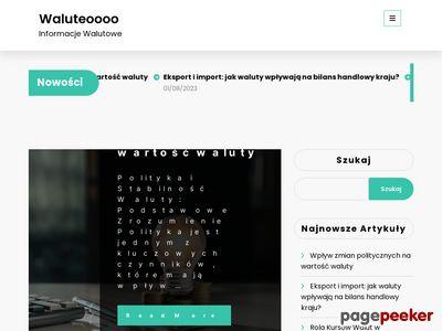 Internetowy kantor Waluteo.pl