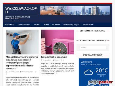 Informacje z Warszawy