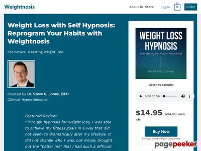 Hypnosis for Weight Loss, Hypnotherapy Audio Download 2018 – WeightNosis