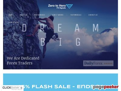 Zero To Hero FX Signals – Become An FX Trading Hero