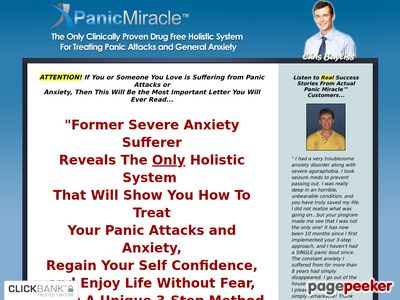 Panic Miracle™ – OFFICIAL WEBSITE – Stop Panic Attacks and Anxiety Holistically