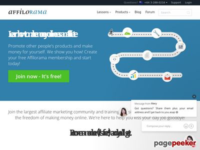 Affiliate Marketing Training, Software & Support  – Affilorama