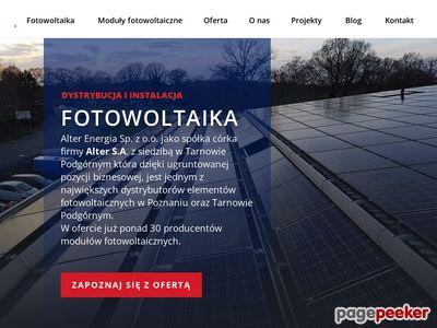 Moduły fotowoltaiczne Poznań