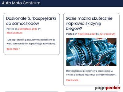 www.automotocentrum.com.pl - warsztat samochodowy Kraków