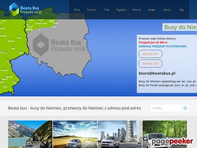 Szukasz busy do Niemiec ? Busy pomorskie w Twoim zasięgu