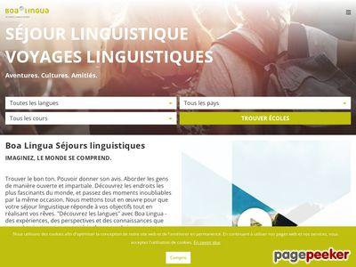 Boa Lingua – séjours linguistiques dans le monde entier - A visiter!