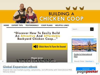 Building A Chicken Coop – Building your own chicken coop will be one of the best decisions you'll make in your life. Learn how at BuildingAChickenCoop.com!