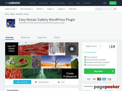 https://www.codester.com/items/4070/easy-mosaic-gallery-wordpress-plugin?ref=allphpscripts website snapshot