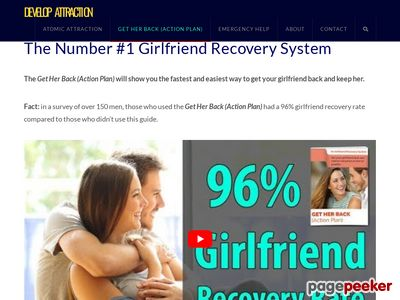 The Get Her Back (Action Plan) – Get Your Girlfriend Back Today