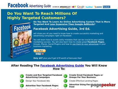 Facebook Advertising Marketing for Business - Facebook Advertising Guide