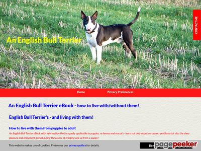 Best English Bull Terrier eBook Review - How to live with an English Bull Terrier, Puppies To Adult!