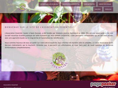 Association Essentiel - A visiter!