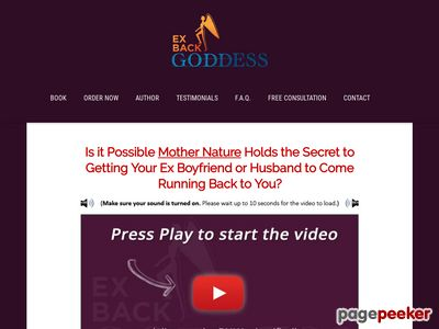Ex Back Goddess™ – Step-by-Step Guide to Get Your Man Back
