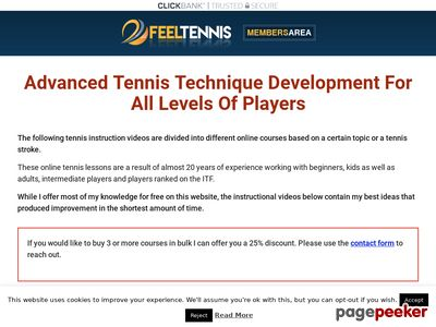 Tennis Online Courses And Instruction Videos – Feel Tennis