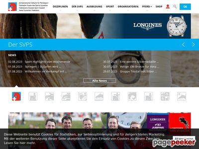 Fédération suisse des sports équestres - A visiter!
