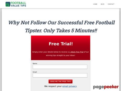 Football Value Tips – Profitable Football Betting Predictions