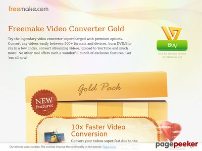 Buy Freemake Video Converter Gold