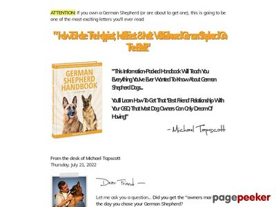 German Shepherd Handbook – German Shepherd Training Tips