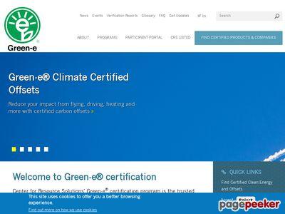 Green-e Screenshot