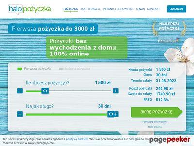 Halopożyczka - 2000 złotych na 30 dni