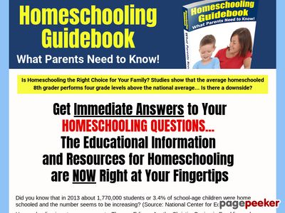 Homeschooling Guidebook