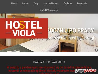 www.hostel-viola.pl