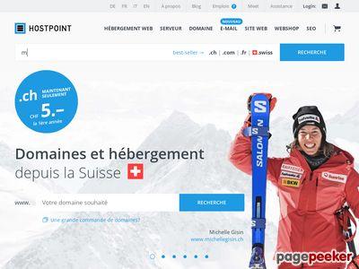 >Hostpoint - A visiter!