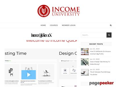 Income Quickies From Income University - Income University