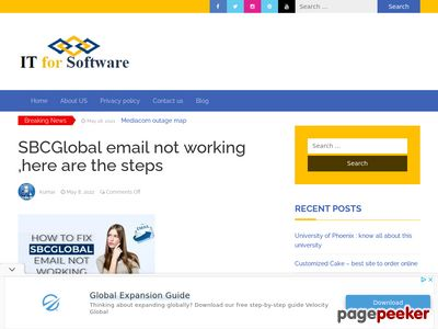Read more about: https://www.itforsoftware.com/sbcglobal-email-not-working/