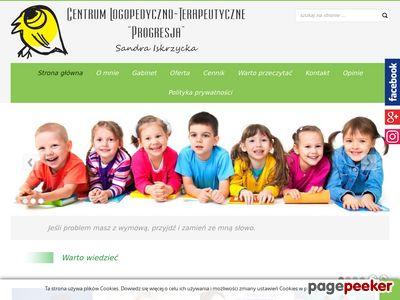 Progresja - Logopeda Sandra Dobrowolska - GABINET LOGOPEDYCZNY w Łodzi - leczenie wad wymowy