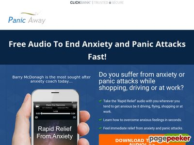 Panic Away Free Audio to End Anxiety and Panic Attacks – Panic Away