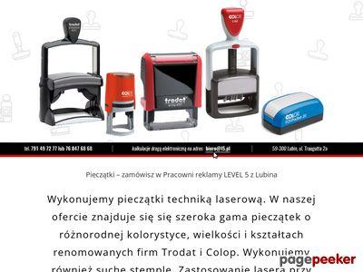 Www.pieczatkilubin.pl